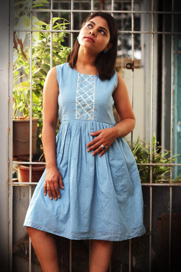 Women's Checks Gotta Midi Dress