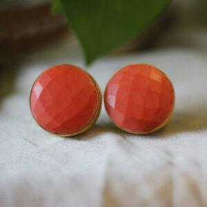 Semi Precious Small Dangler Earrings